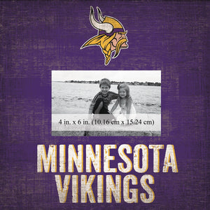 Minnesota Vikings Team Logo Picture Frame