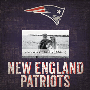 New England Patriots Team Logo Picture Frame
