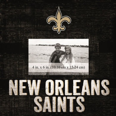 New Orleans Saints Team Logo Picture Frame