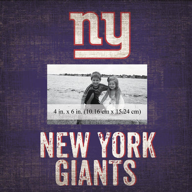 New York Giants Team Logo Picture Frame