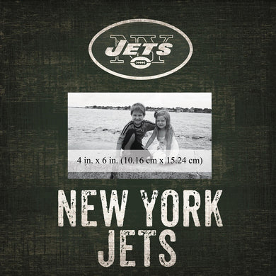 New York Jets Team Logo Picture Frame