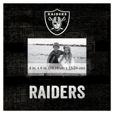 Oakland Raiders Team Logo Picture Frame