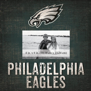 Philadelphia Eagles Team Logo Picture Frame