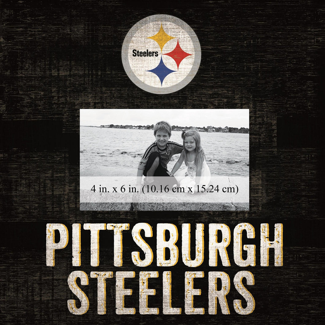 Pittsburgh Steelers Team Logo Picture Frame