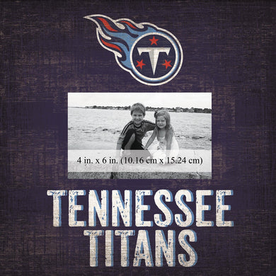 Tennessee Titans Team Logo Picture Frame