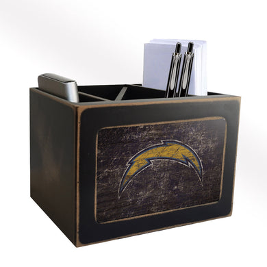 Los Angeles Chargers Desktop Organizer