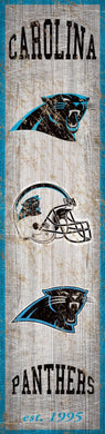 Carolina Panthers Heritage Banner Vertical Sign - 6