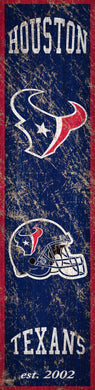 Houston Texans Heritage Banner Vertical Sign - 6