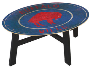 Buffalo Bills Heritage Logo Wood Coffee Table
