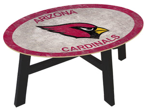 Arizona Cardinals Color Logo Coffee Table