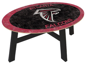 Atlanta Falcons Color Logo Coffee Table