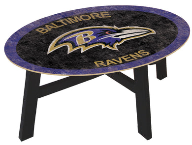 Baltimore Ravens Color Logo Coffee Table