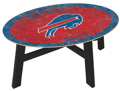 Buffalo Bills Color Logo Coffee Table