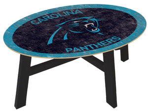 Carolina Panthers Color Logo Coffee Table