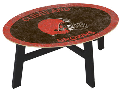Cleveland Browns  Color Logo Coffee Table