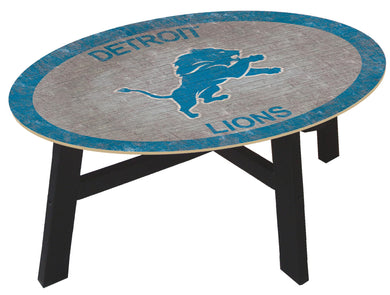 Detroit Lions Color Logo Coffee Table