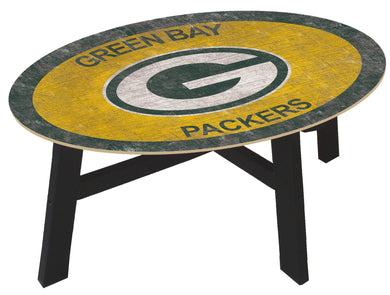 Green Bay Packers Color Logo Coffee Table
