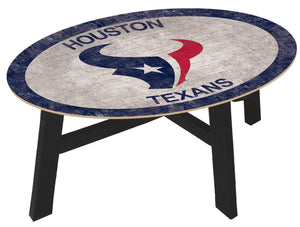 Houston Texans Color Logo Coffee Table