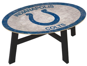 Indianapolis Colts Color Logo Coffee Table