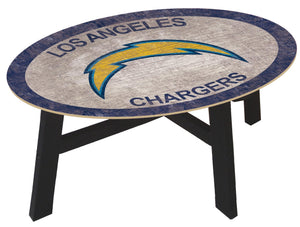 Los Angeles Chargers Color Logo Coffee Table