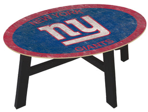 New York Giants Color Logo Coffee Table