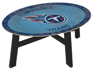 Tennessee Titans Color Logo Coffee Table