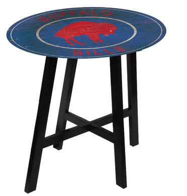 Buffalo Bills Heritage Logo Pub Table
