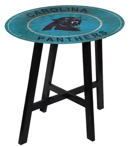 Carolina Panthers Heritage Logo Pub Table