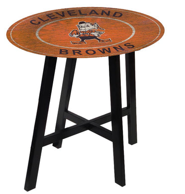 Cleveland Browns Heritage Logo Pub Table