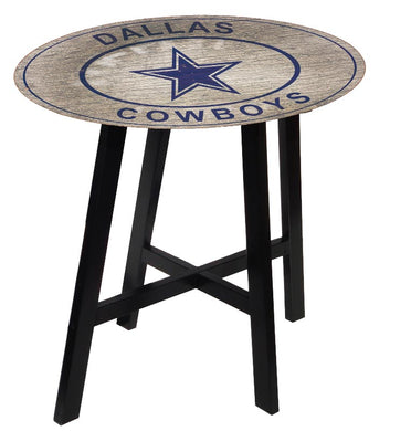 Dallas Cowboys Heritage Logo Pub Table