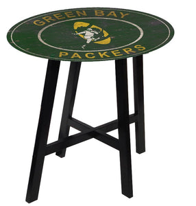 Green Bay Packers Heritage Logo Pub Table