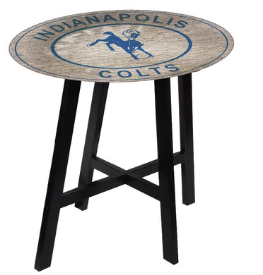Indianapolis Colts Heritage Logo Pub Table