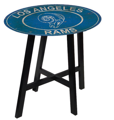 Los Angeles Rams Heritage Logo Pub Table