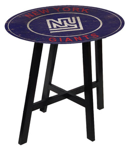 New York Giants Heritage Logo Pub Table