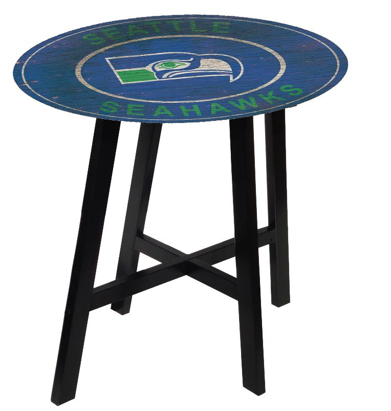 Seattle Seahawks Heritage Logo Pub Table