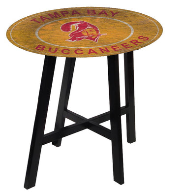 Tampa Bay Buccaneers Heritage Logo Pub Table