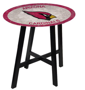 Arizona Cardinals Color Logo Pub Table