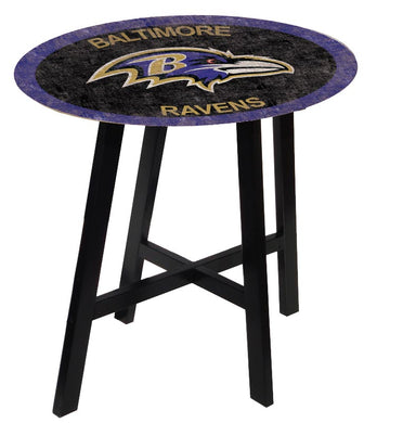 Baltimore Ravens Color Logo Pub Table