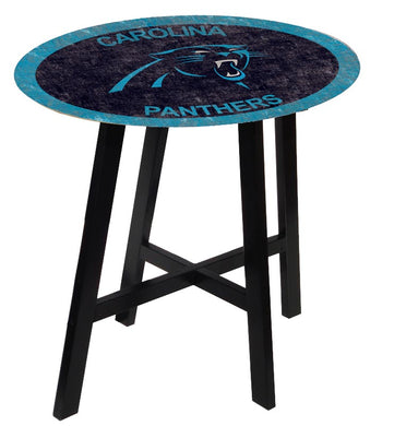 Carolina Panthers Color Logo Pub Table