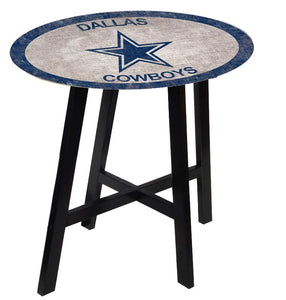 Dallas Cowboys Color Logo Pub Table