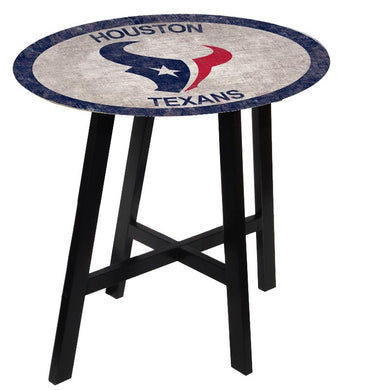 Houston Texans Color Logo Pub Table