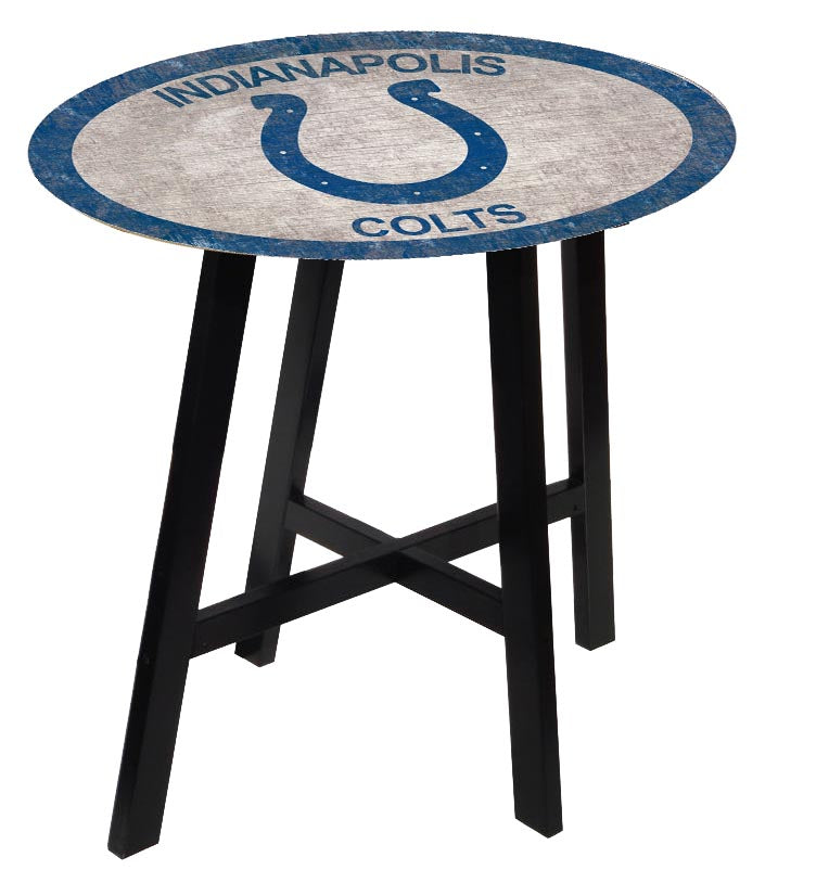 Indianapolis Colts Color Logo Pub Table