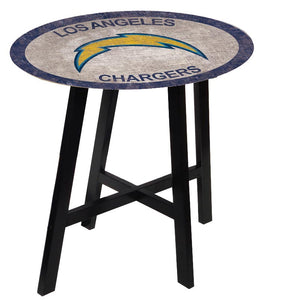 Los Angeles Chargers Color Logo Pub Table