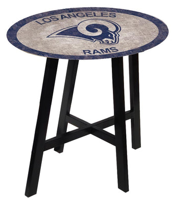Los Angeles Rams Color Logo Pub Table