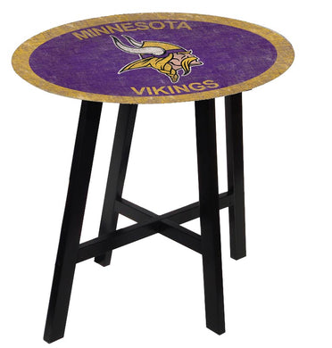 Minnesota Vikings Color Logo Pub Table