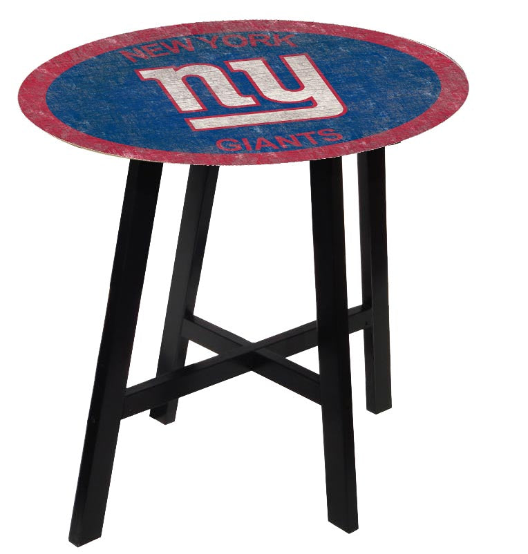 New York Giants Color Logo Pub Table
