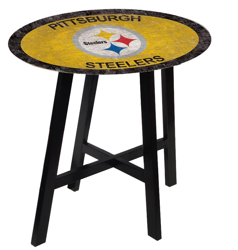 Pittsburgh Steelers Color Logo Pub Table