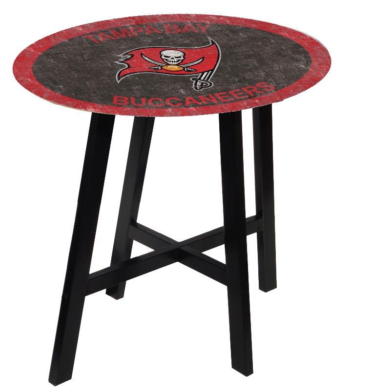 Tampa Bay Buccaneers Color Logo Pub Table