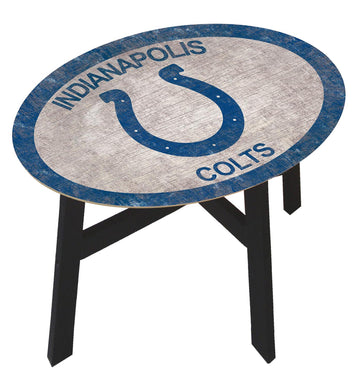 Indianapolis Colts Team Color Wood Side Table