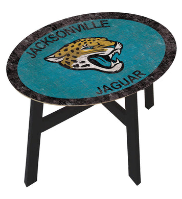 Jacksonville Jaguars Team Color Wood Side Table